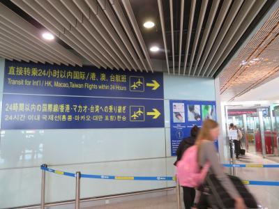 ニセ情報に要注意♪これが本物!!北京首都国際空港 国際線乗り継ぎ♪2019年5月 フランス ロワール地域他 8泊10日 1人旅(個人旅行)1