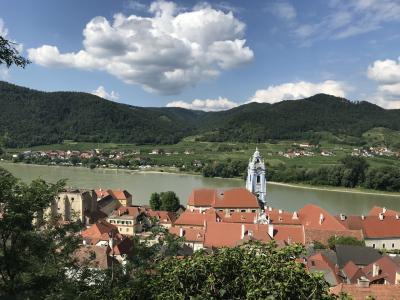 2018年6月ウィーン 3歳子連れヨーロッパ★デュルンシュタインで古城ホテルとワイン飲みまくり