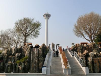 50代でもできる女一人旅・・・福岡・大分・高速船ビーグルで行く釜山5泊6日④ 3日目プサンタワー 西面