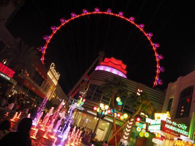 初めてのアメリカ・ラスベガス女子旅 ダウンタウン&夜のストリップ探索篇