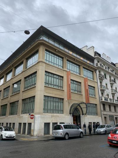 ジュネーブでパティックフィリップ本店とミュージアムへ