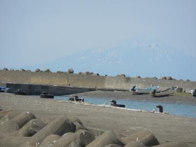 天塩港でカレイ釣り