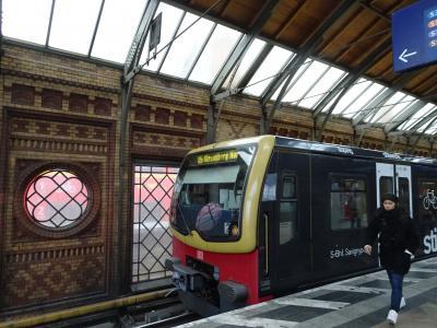 東欧鉄道の旅 その11(ベルリンの壁、東と西と行ったり来たり)