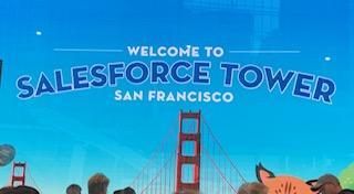 Salesforce Tower ツアー☆サンフランシスコで一番高い61階Ohana Floor訪問