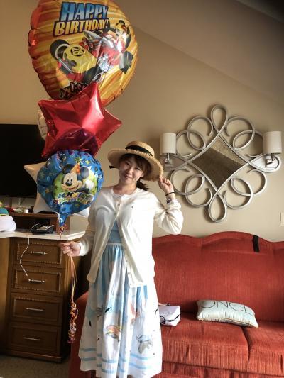 WDW2回目の訪問!母娘の2人旅、誕生日、ユナイテッドポラリスクラス、
