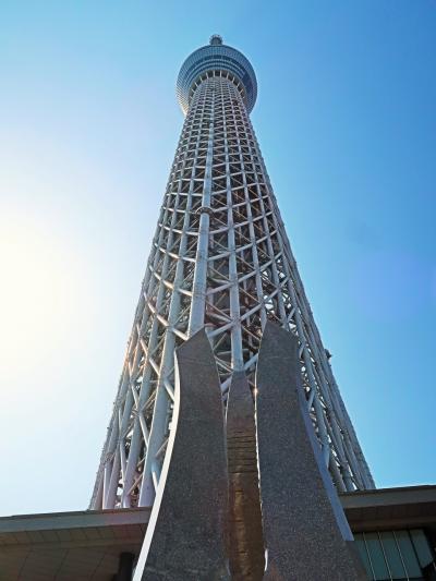 東京スカイツリー03  [To The Sky ]Monument と伴に ☆ギャラリー:塔-説明も