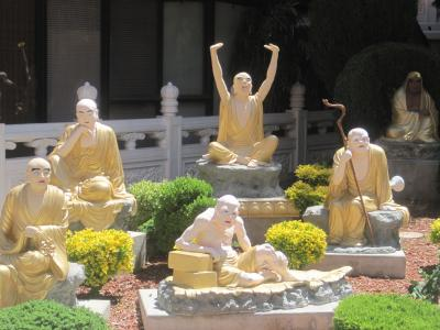 2017 LAマイナー観光地ドライブその①台湾・仏光山系の西来寺で精進バフェなどいただきました!