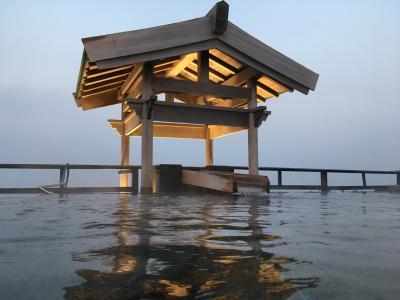 久しぶりの温泉  和風旅館  粛海風
