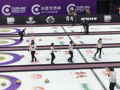 【中国紀行】初めての北京(1) カーリング
