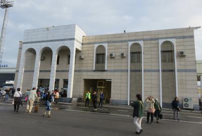 2019春、ウズベキスタン等の旅(2/52):4月23日(2):サマルカンド(1):ウズベキスタン直行便、3泊したホテル
