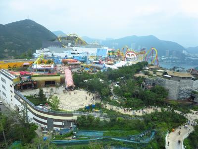 香港旅行記  その1(オーシャンパークほか)