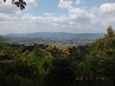 京都東山トレイル 藤森から知恩寺