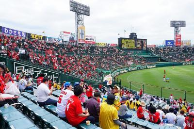 ★2019年5月★広島から甲子園球場にカープ戦を観に行ってみた(しかもチケットを忘れて)