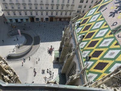 ウィーン滞在9回目(1.シュテファン大聖堂の北塔に登る)