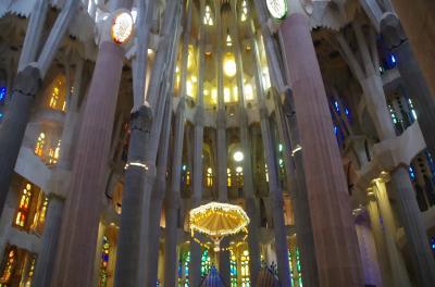 スペイン語学習仲間とバルセロナ自由旅行 4-1 サグラダ・ファミリア