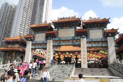 香港黄大仙で株式投資の必勝祈願