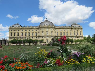 ヴュルツブルク_Würzburg 欧州屈指の美しい司教館!ロマンティック街道の起点の町
