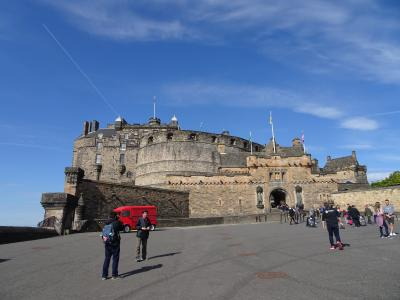 はじめてのKLMでイギリス、スコットランドへ (2)魅惑のエジンバラ