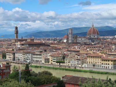 イタリア  ローマ・フィレンツェの旅  2019年5月 第3日 フィレンツェ観光