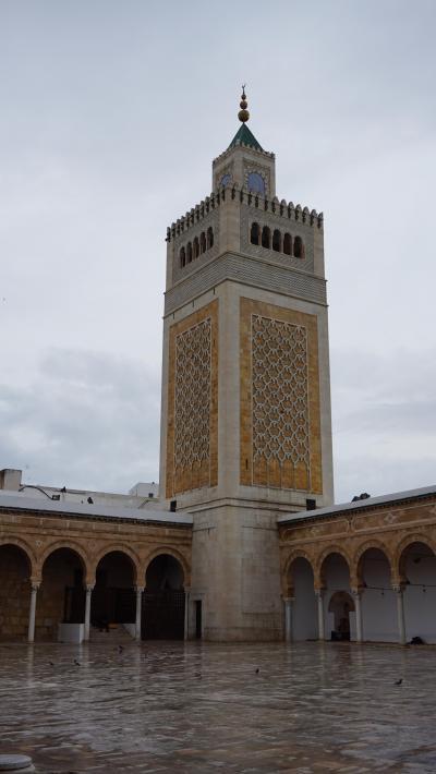 2019年4月早春のチュニジア一人旅 1.チュニス市内観光とバルドー博物館見学