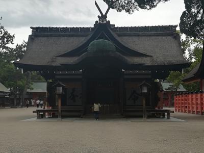 住吉大社と仁徳天皇陵古墳