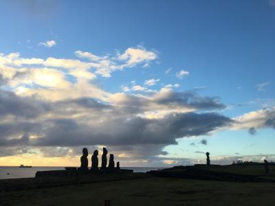 2019世界一周#2チリ~タヒチからイースター島へ