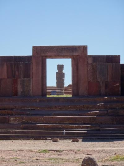 ボリビア旅行は高地トレーニング? 7日目・ラパス&ティワナク遺跡