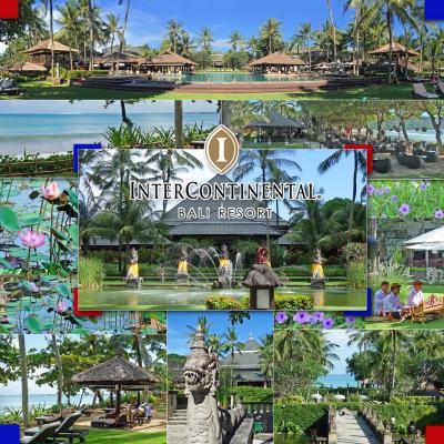 GW、5度目のバリ島7-インターコンチネンタル バリ リゾート、クラブルーム宿泊、Zahra Spa、Waroeng Kampoeng-