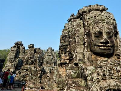 カンボジア遺跡巡りの旅、自然に還っていく遺跡(5日目午前)