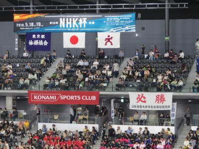 スポーツ観戦② NHK杯男子体操