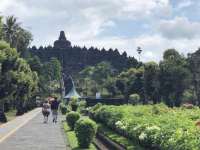 天国の島・カリムンジャワを目指して!【1】~先ずは、ジョグジャカルタ・ボルブドゥール遺跡