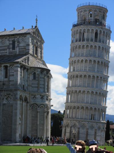 大韓航空ビジネスクラスで行くイタリア10日間の旅 その5 ピサの斜塔と花の都フィレンツェ観光
