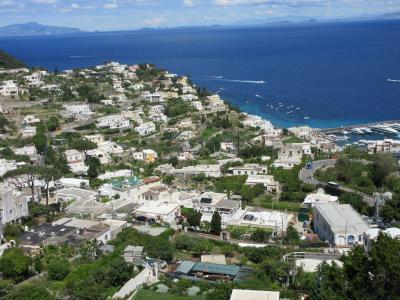 大韓航空ビジネスクラスで行くイタリア10日間の旅 その7 青の洞窟のカプリ島からアマルフィー海岸へ