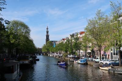 春のオランダ・ベルギー:1:アムステルダム