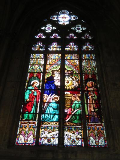 サン・ガシアン大聖堂♪ステンドグラス♪ゴシックルネサンスが混在♪2019年5月 フランス ロワール地域他 8泊10日 1人旅(個人旅行)12
