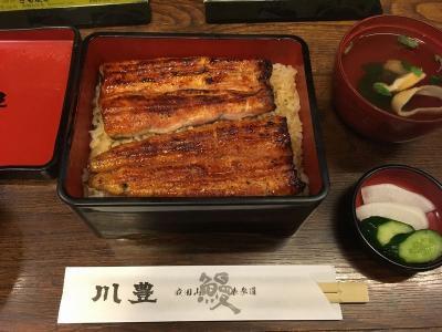 男一人で成田山新勝寺にうなぎを食べに行ってきた