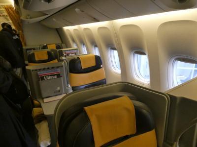 2019MAY(AZ)アリタリア航空ビジネスクラス搭乗記・成田空港デルタスカイクラブ・イタリア・ローマテルミニ駅からイタロに乗ってナポリへ