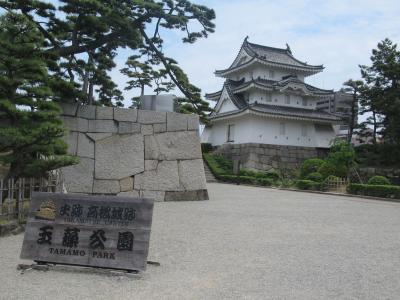 初夏の山陽・四国旅(15)高松城跡(玉藻公園):日本三大水城~海水のお堀
