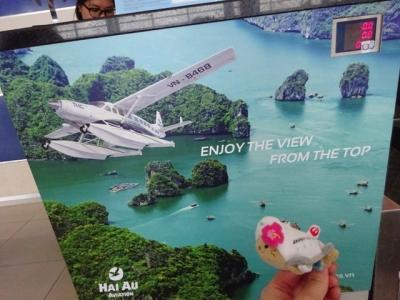 水上飛行機で行くハロン湾