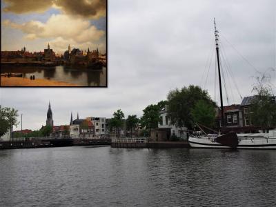"""2019GW ベルギー・オランダ一人旅⑧【オランダ美術館巡り・""""デルフトの眺望″と映画の世界を見てみたい♪】編"""