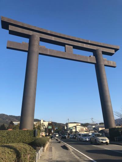 2019年の初詣は大神神社へ