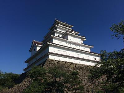 戊辰戦争の激戦の地・会津若松城に入城しました