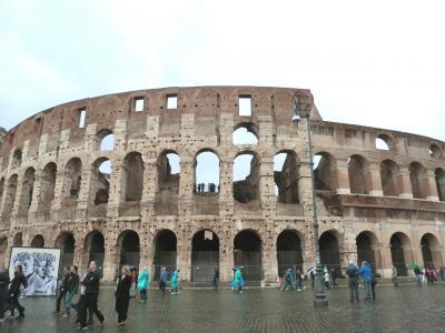 ローマ①★コロッセオ、フォロ・ロマーノ、スペイン広場、トレヴィの泉