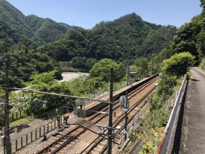 飯田線の旅(名古屋発日帰り)Part2:豊橋~鶯巣間、秘境駅・秘湯温泉・架橋