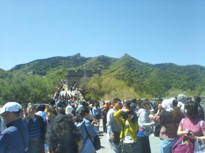 永年の夢だった『万里の長城』にやっと叶えられました。