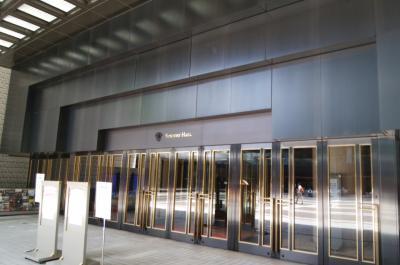 サントリーホールのピアノコンサートとアンドレ・ルコント広尾店