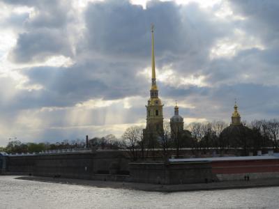 観光名所を歩いて散策 サンクトペテルブルグ ロシア6日目