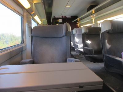 TGV AIRでブリュッセルからシャルルドゴール
