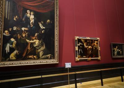 ウィーン美術史美術館【3】イタリア絵画(3)Caravaggio &Caravaggeske etc