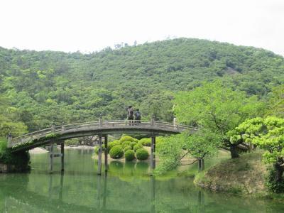 初夏の山陽・四国旅(17)栗林公園~国指定の特別名勝